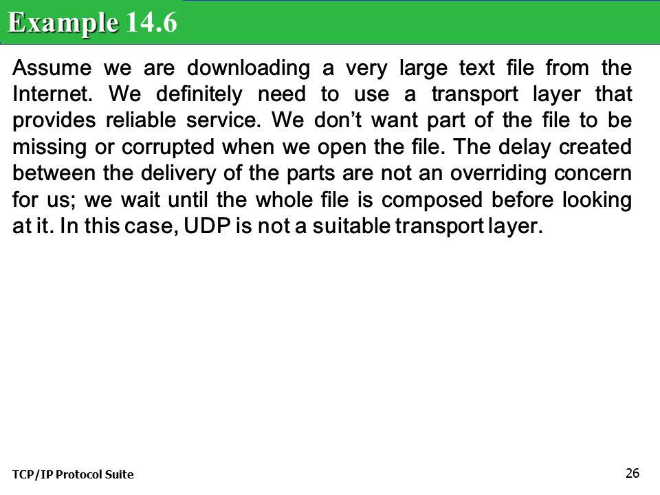 Example 14.6