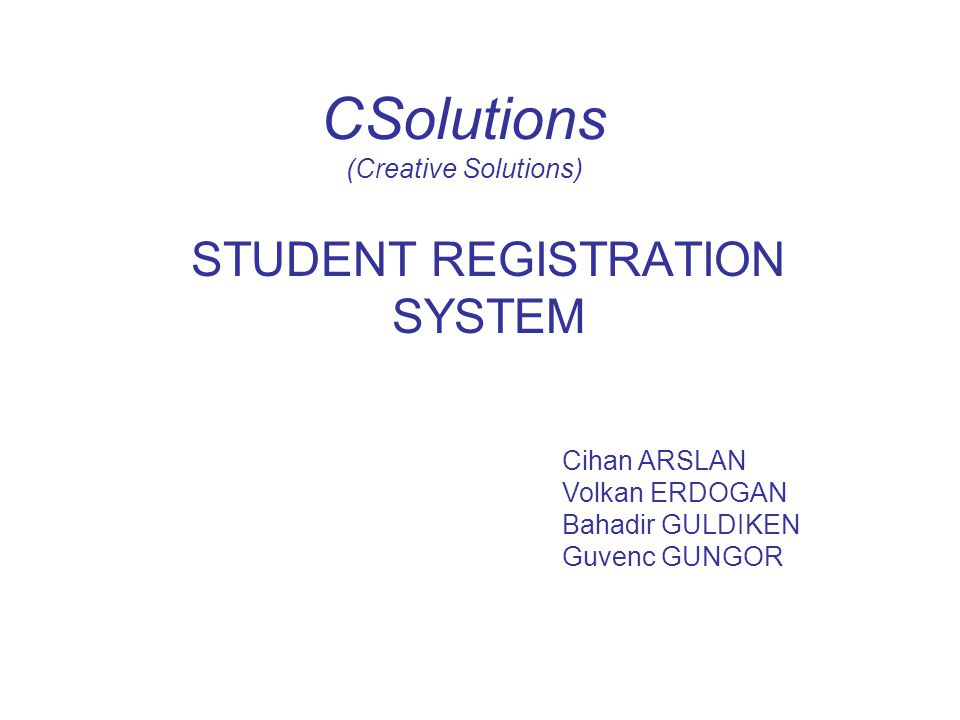 CSolutions (Creative Solutions)