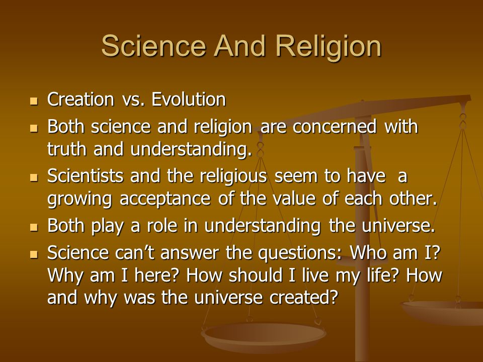 Overview: The Conflict Between Religion and Evolution