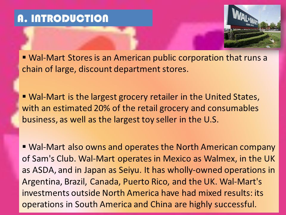 introduction to wal mart A striped introduction by: gartner studios size: 5x7 paper: premium card stock trim type: choose an option we're in the process of upgrading the walmart.