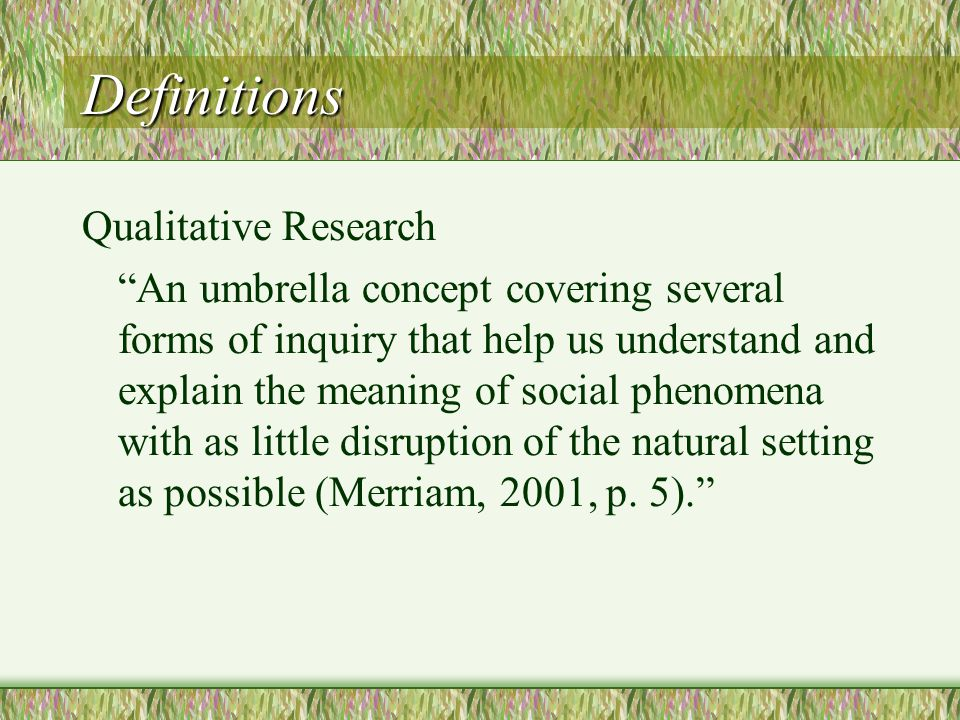 merriam qualitative research