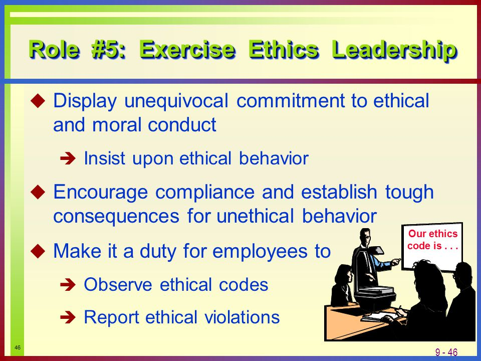 how to establish an ethical environment To define an ethical business culture for a business is to create an environment  where doing the right thing is easy and doing the wrong thing will get you.