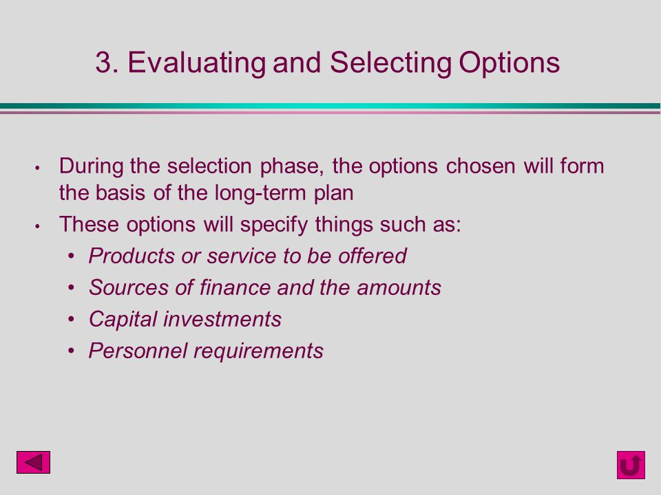 Evaluating stock options