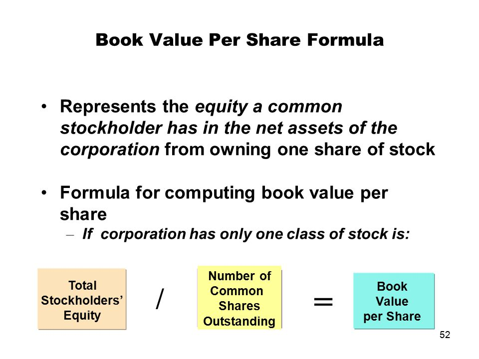 Equity/Share. The trailing one- and three-year annualized growth rate per share in a company's shareholders' equity, or book value. Equity per share represents the net-asset value backing up each share of the company's stock.