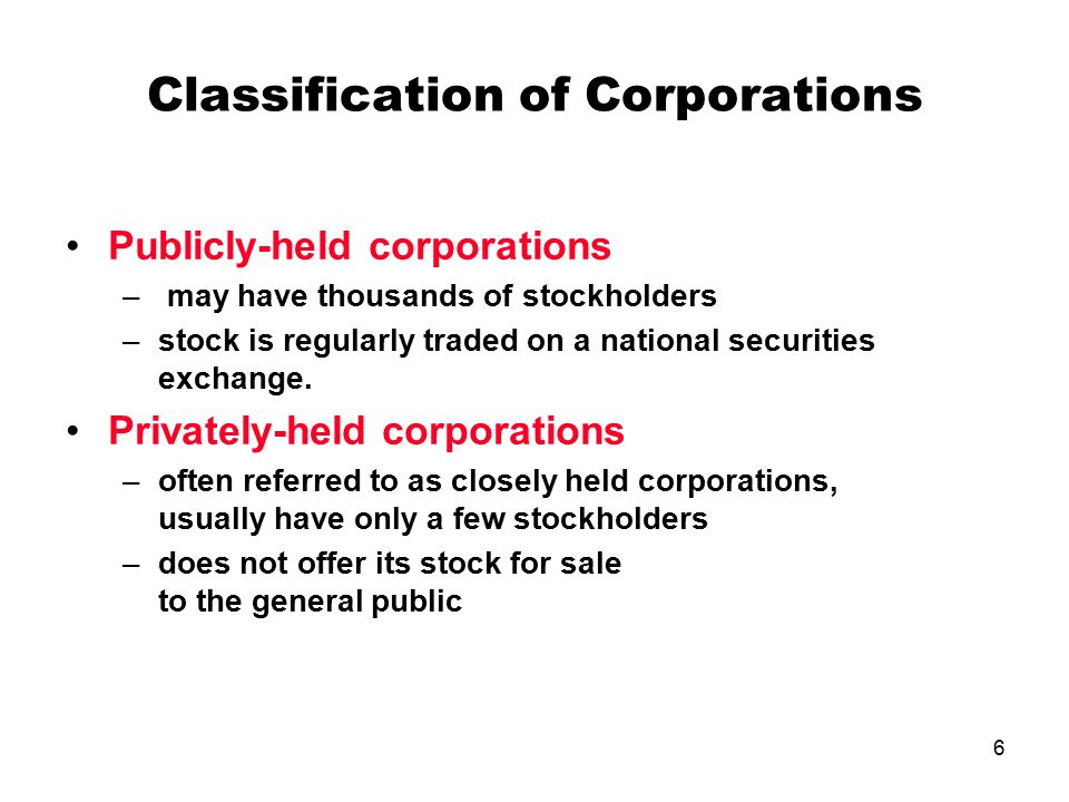 publicly held and a closed corporation A matter of trust: closely-held derivative lawsuits by:  and widely-held and/or publicly held  while public or widely-held corporation derivative lawsuits.
