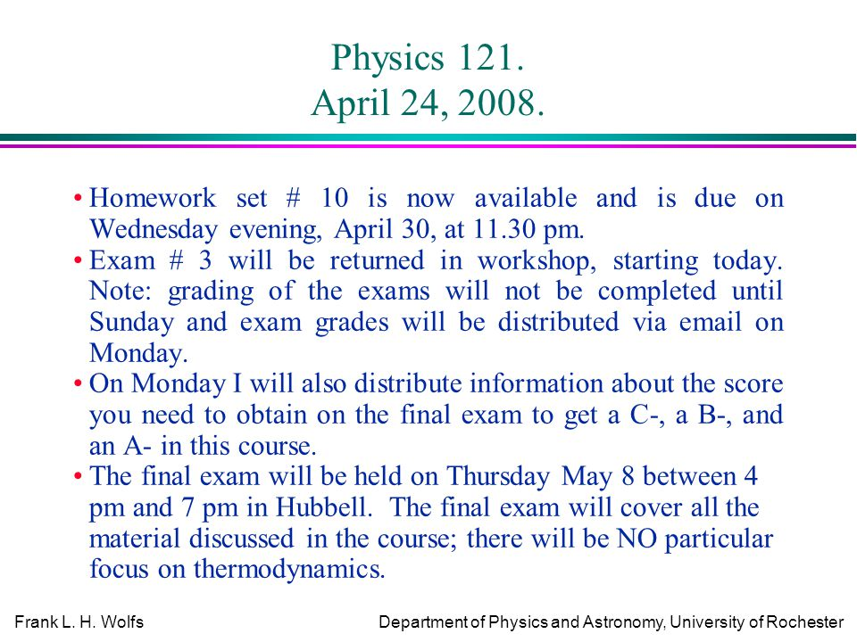 physics first law of thermodynamics assignment Homework assignments are available in pdf format final answers will be posted  after homework is due  homework 5 newton's 1st and 2nd laws of motion.