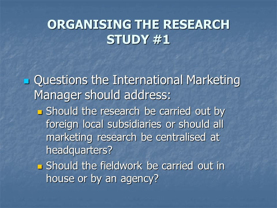 Analysis of risk in international marketing ppt download – International Marketing Manager