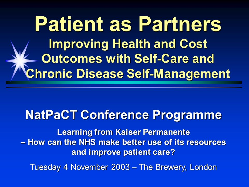 NatPaCT Conference Programme