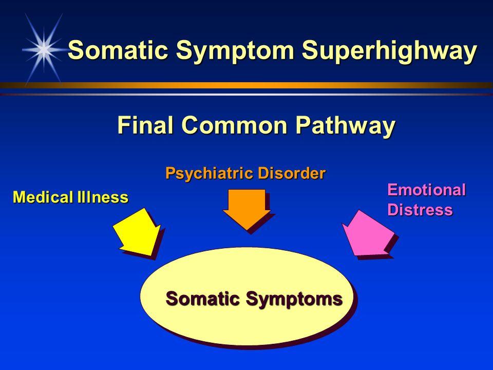 Somatic Symptom Superhighway