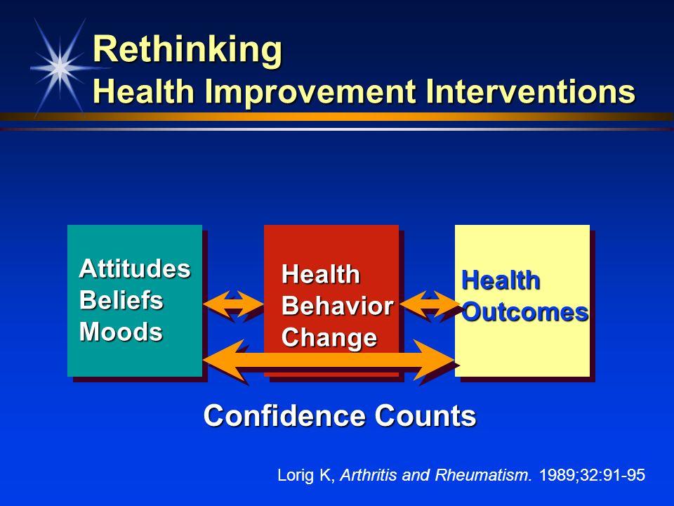 Rethinking Health Improvement Interventions
