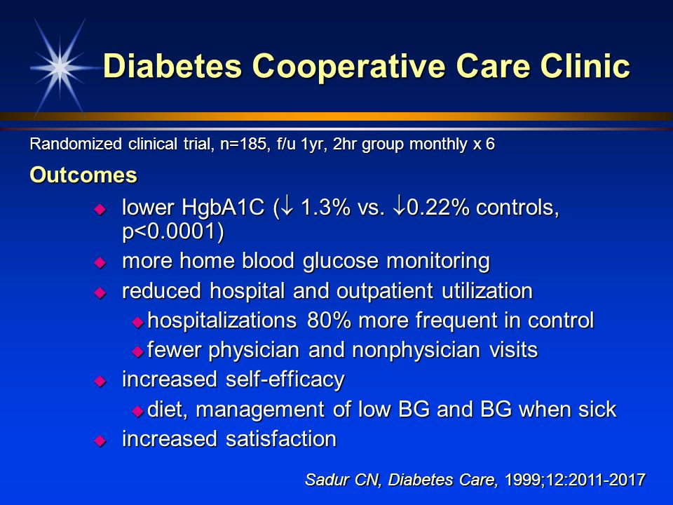 Diabetes Cooperative Care Clinic