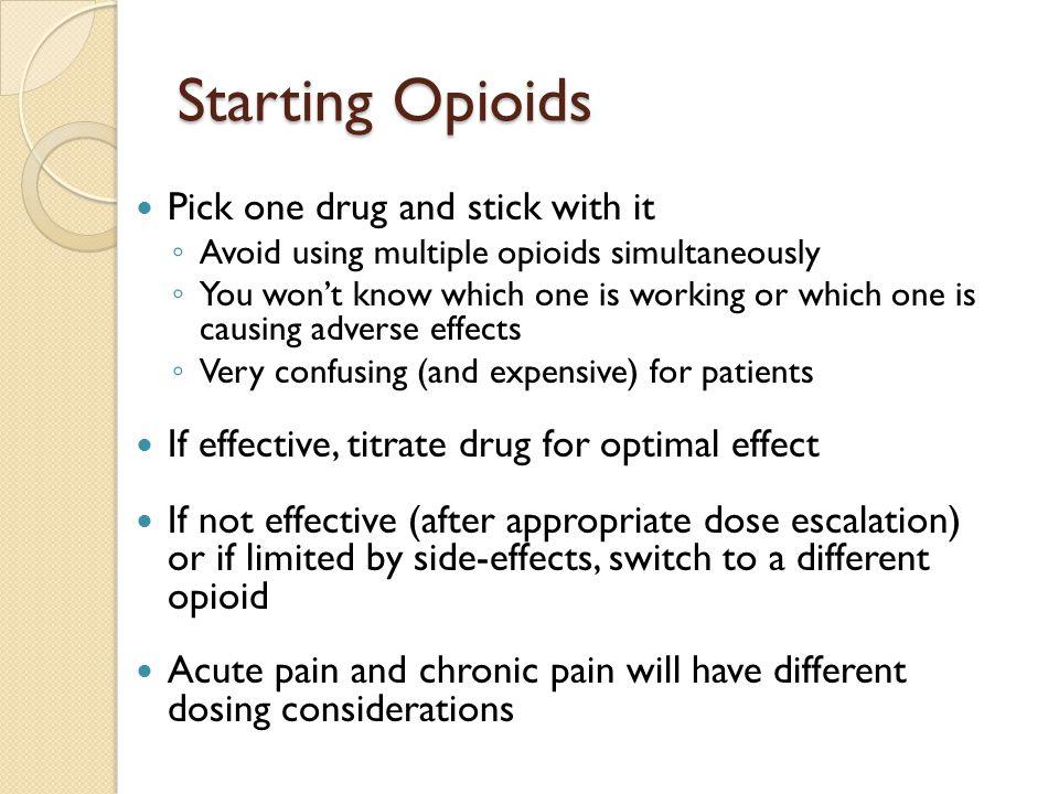Pain Management 101 Basic Skills For Opioid Prescribing
