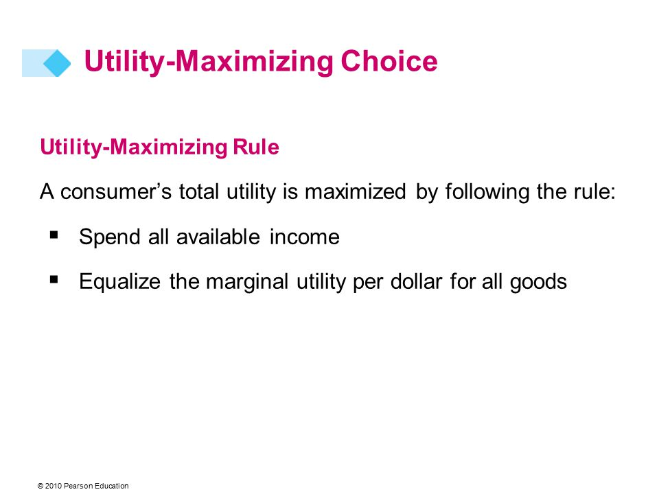 Utility-Maximizing Choice