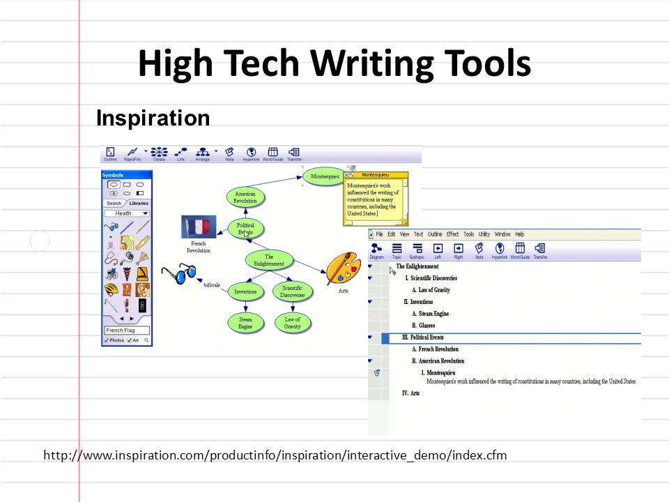 High-Tech Help for Writing