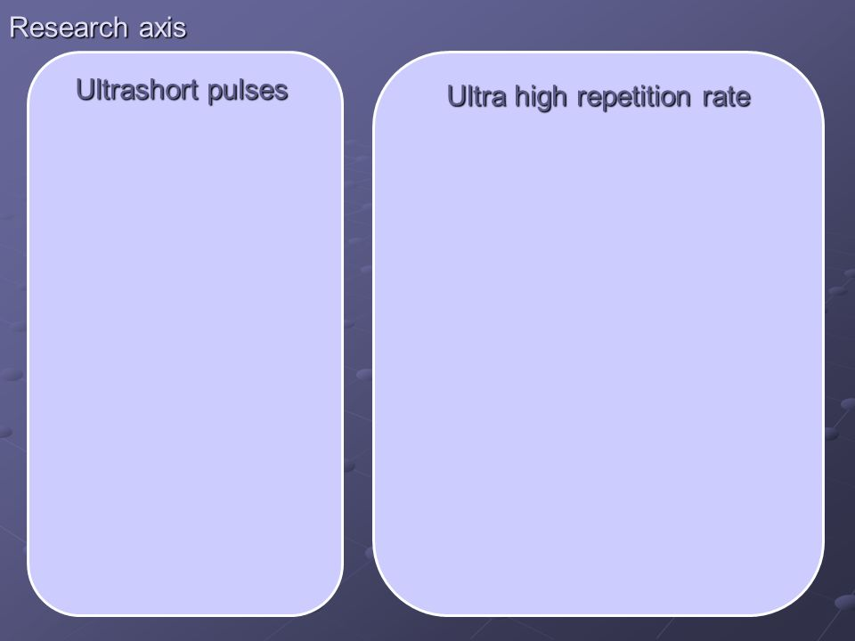 Ultra high repetition rate