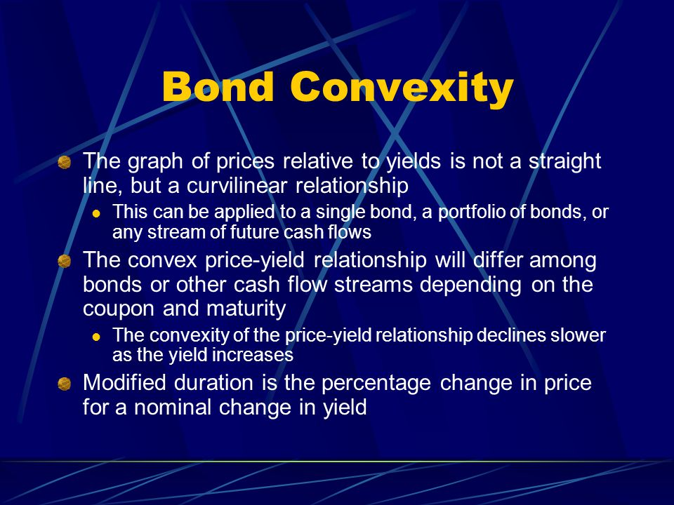 convexity and duration relationship questions