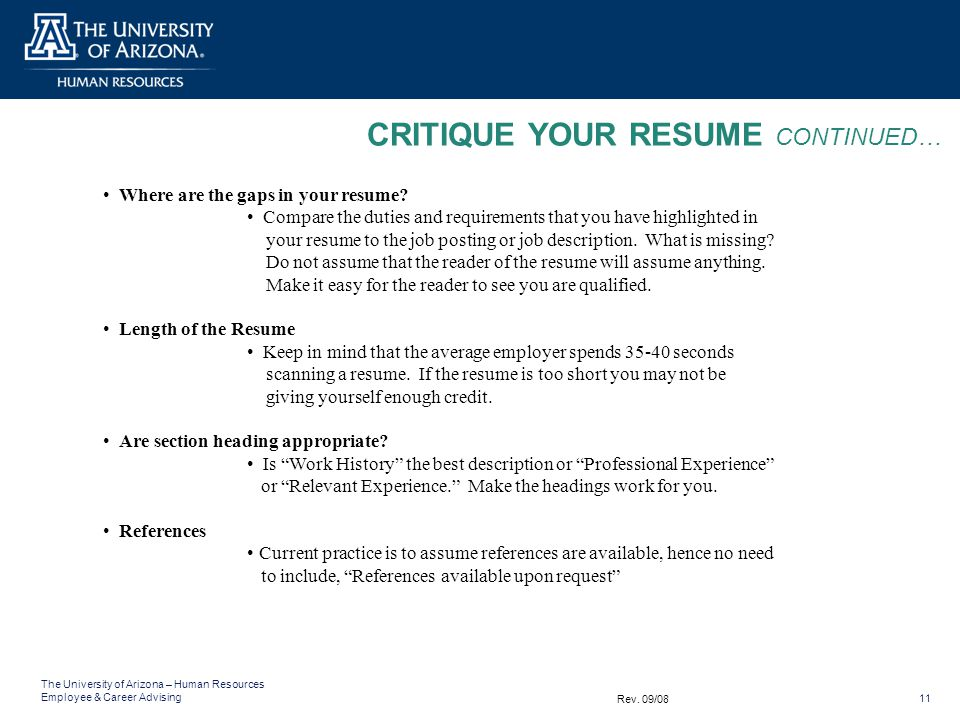 what is a resume   what is not a resume