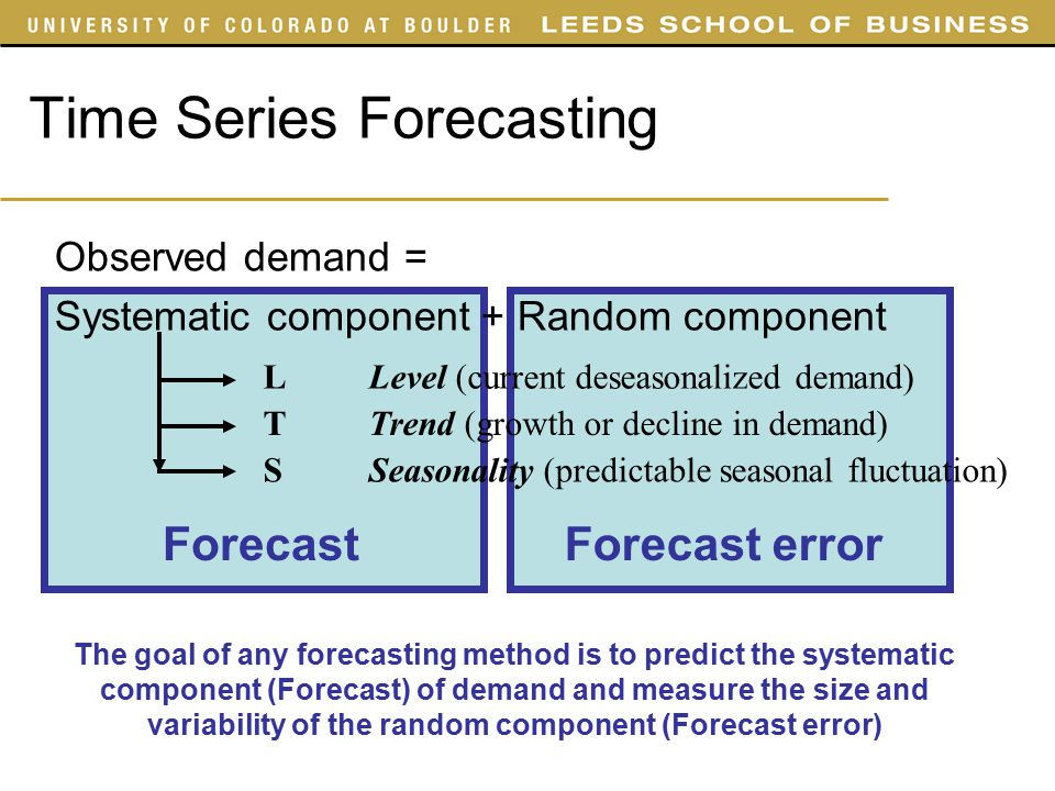 time series and forecasting pdf