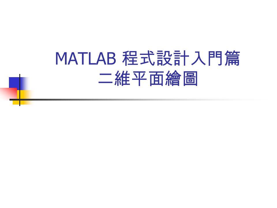 MATLAB程式设计建筑篇创意平面设计.-二维入门门绘图图片素材图片
