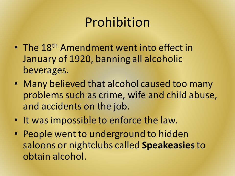 what instigated the actual Eighteenth amendment