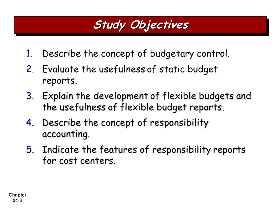Responsibility centers and financial control essay