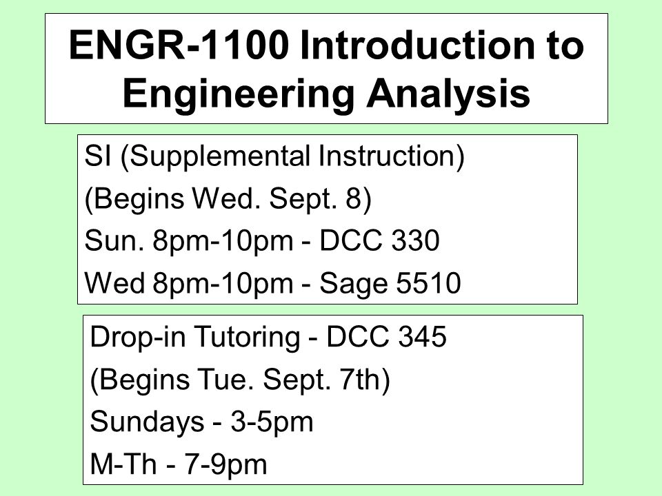 introduction to engineering analysis pdf