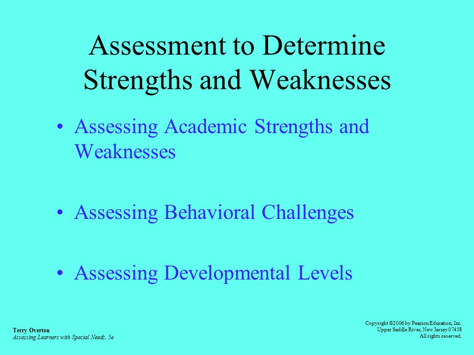 assessing learners needs in education essay According to gopee (2008) a mentor is a registrant who takes time to facilitate learning, assess and supervise students during their progression years.