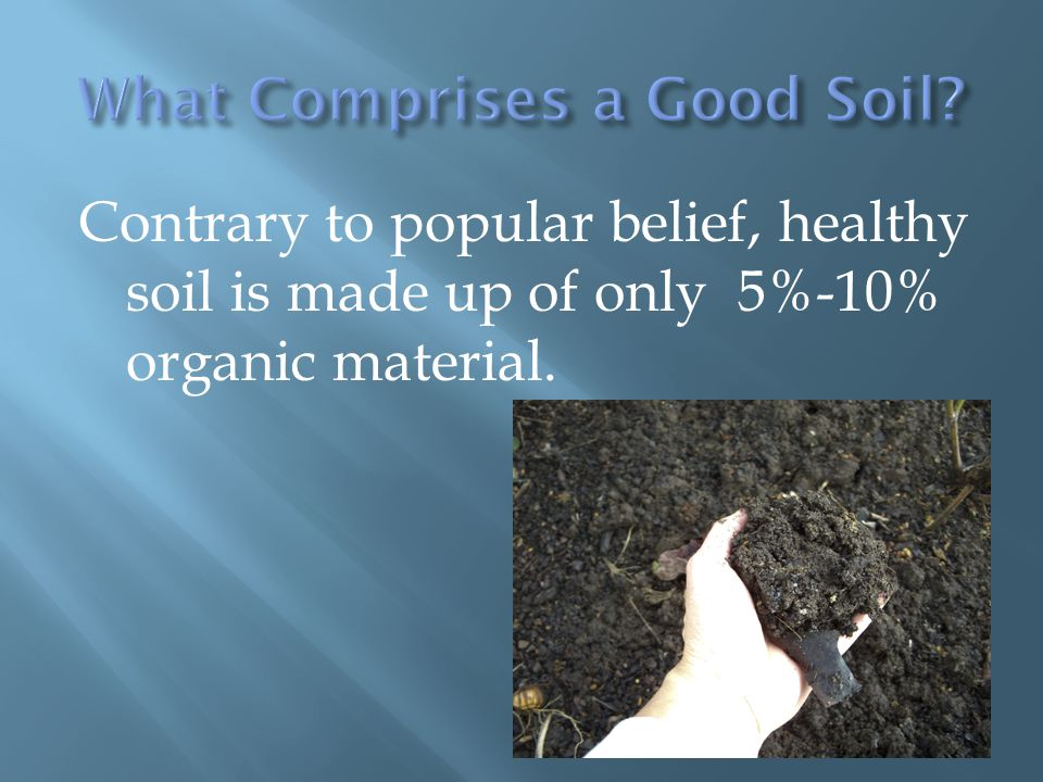 Master composting presented by cynthia warne program for What 5 materials make up soil