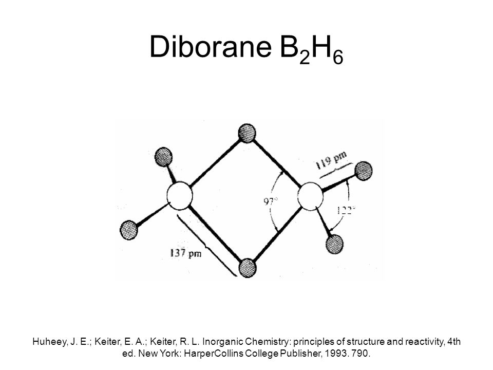 A Very Brief Introduction to Boron Chemistry - ppt video ... B2h6 Lewis Structure