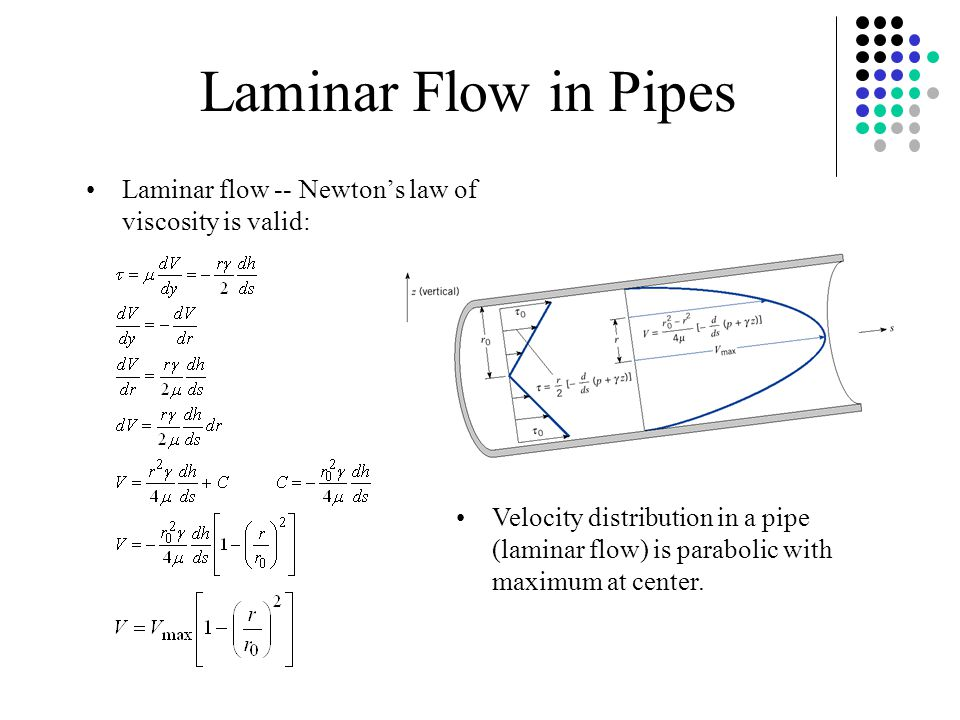 pipe flow experiment Finite amplitude is needed because pipe flow is linearly stable with respect  ( 2011) experimental studies of transition to turbulence in a pipe.