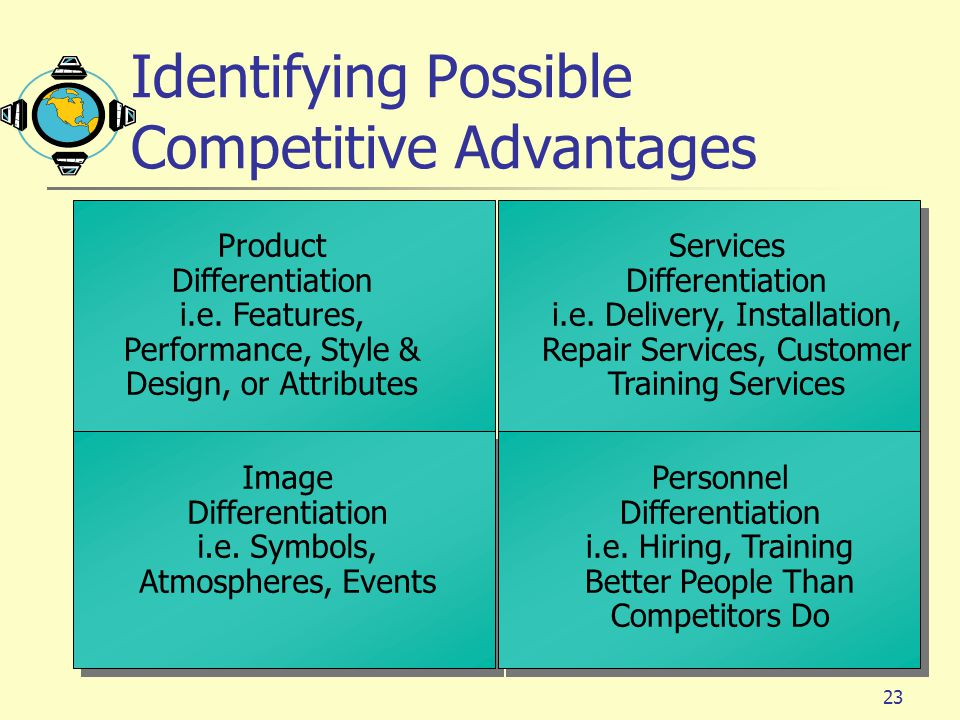 competitive advantages of competitors Start studying competitive advantage learn vocabulary, terms, and more with flashcards, games, and other study tools.