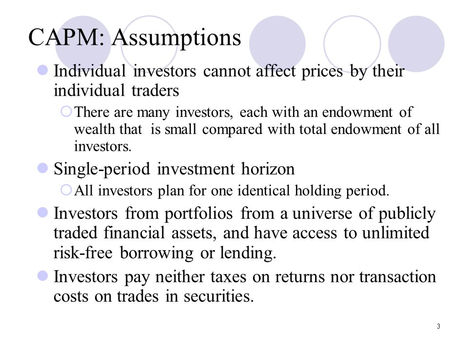 the capital asset pricing model and arbitrage pricing The capital asset pricing model is a mathematically simple estimate of the cost of equity capm states that investors require additional returns (risk premium) in excess of a risk-free asset proportional to market risk.