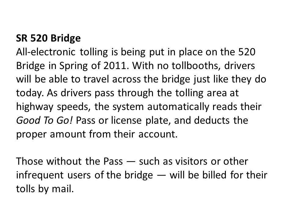 SR 520 Bridge