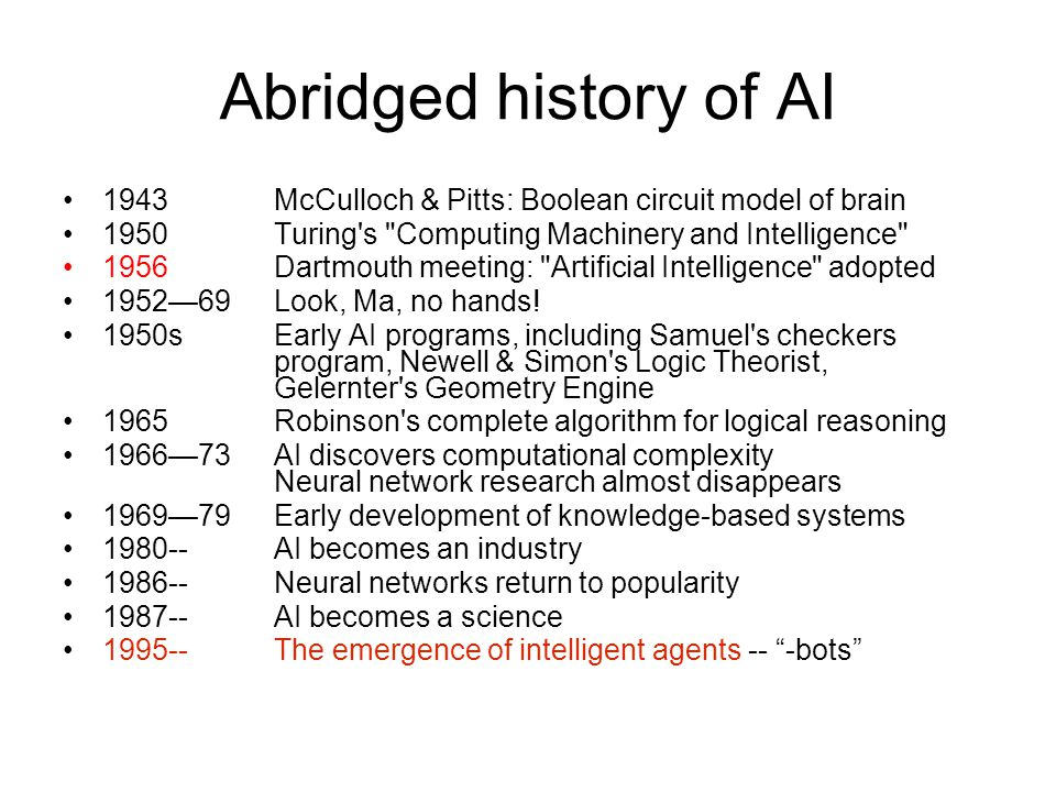 Overview Of Artificial Intelligence Ai Ppt Video