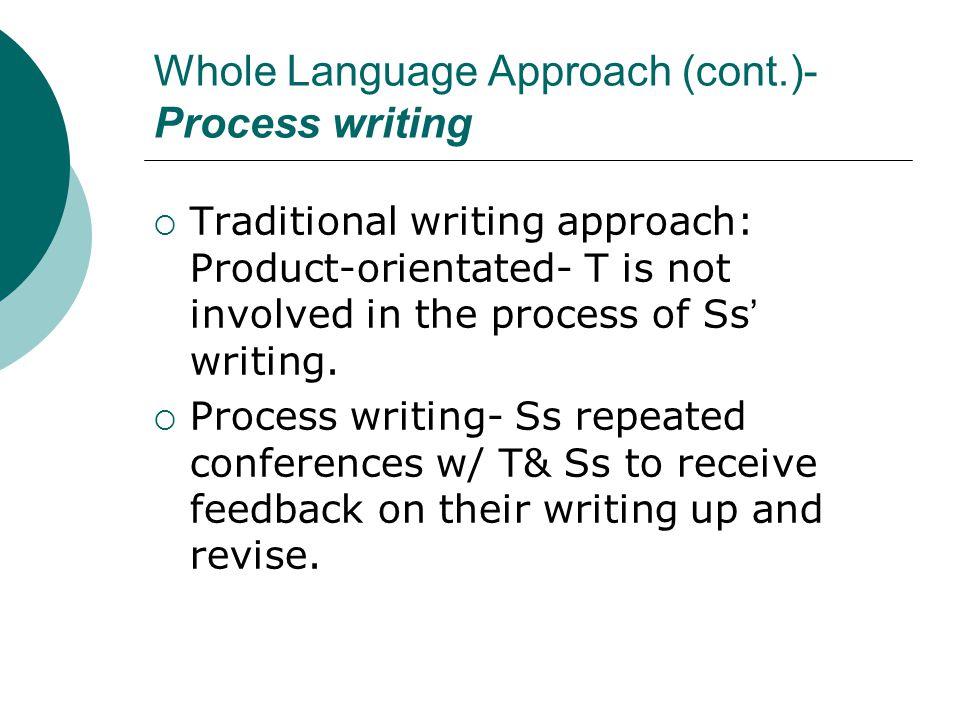 process based writing