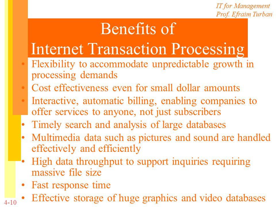 advantages of transaction processing information systems One of the major benefits of this architecture is that it is easy to scale  the  information contained herein has been obtained from sources believed to be  reliable gartner disclaims all  transaction processing systems (see note 1) are  usually.