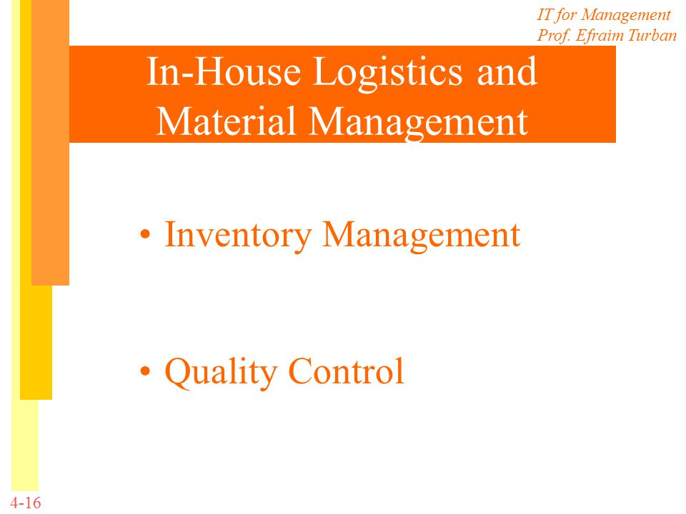What is Materials Management?