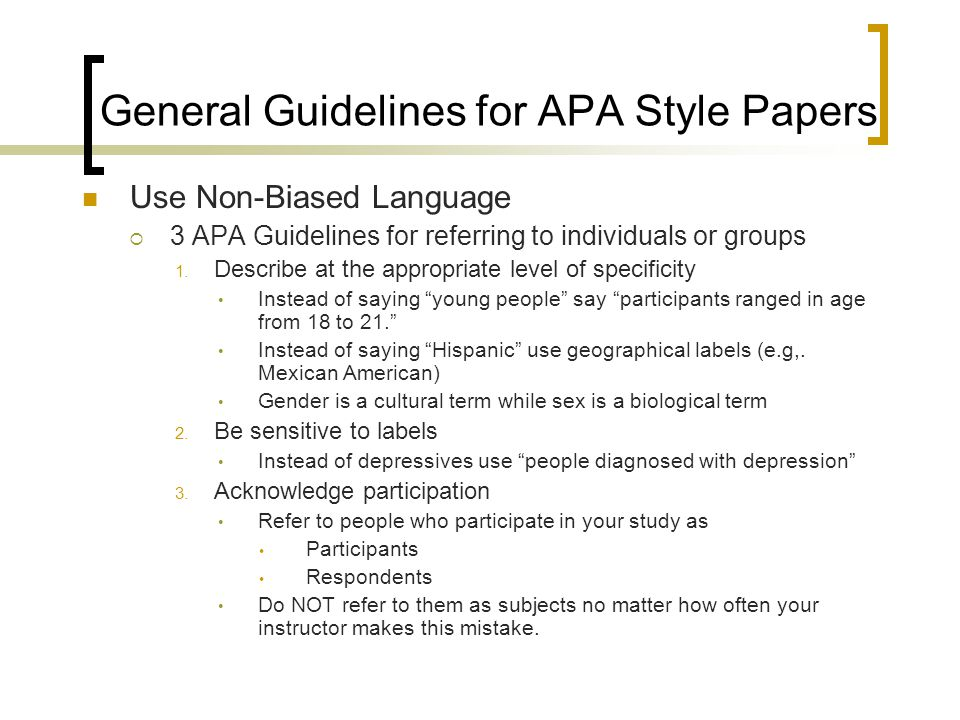 Rules For Writing An Apa Research Paper Homework Example