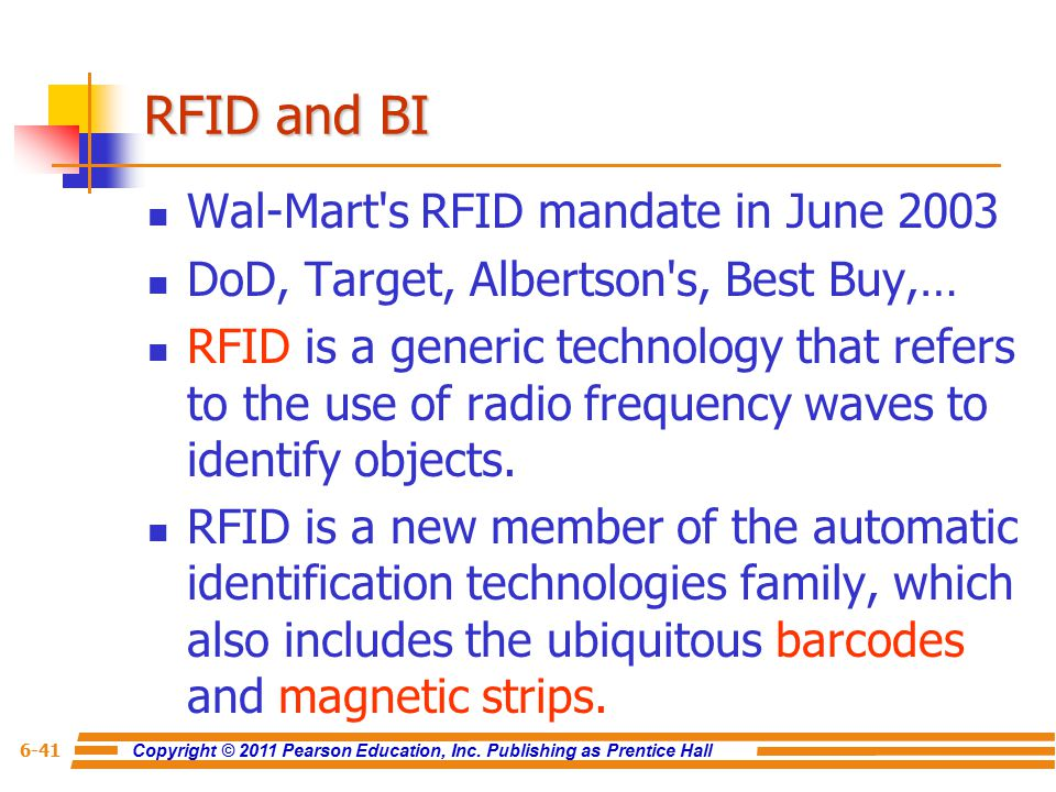 wal mart grapples with rfid A decade ago, retailer wal-mart put its corporate weight behind rfid technology in doing so, it almost killed it will it ever recover.