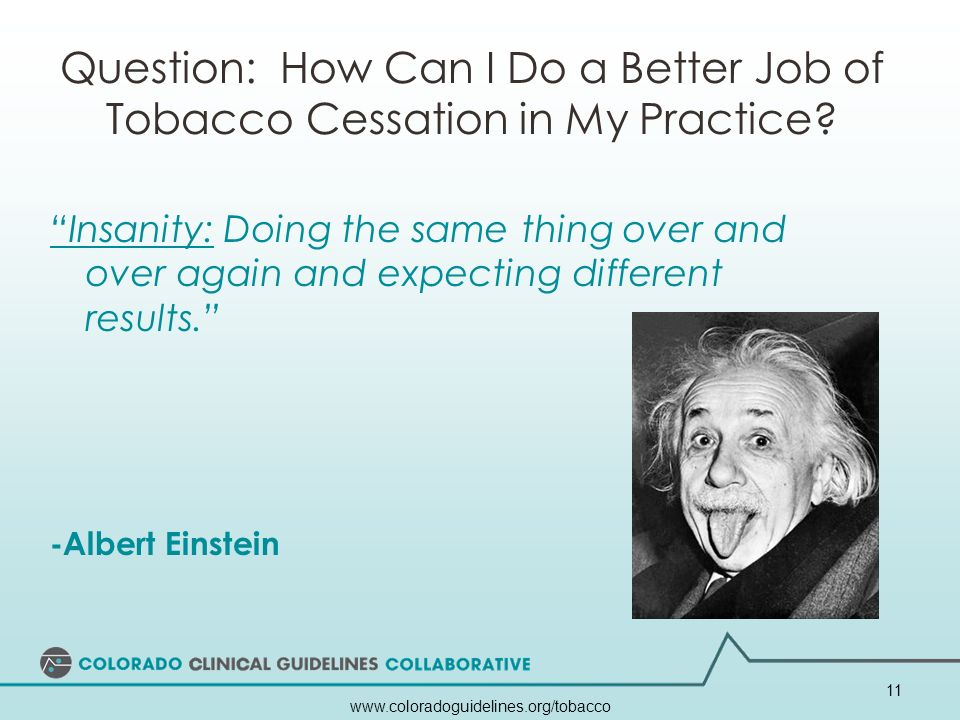Question: How Can I Do a Better Job of Tobacco Cessation in My Practice