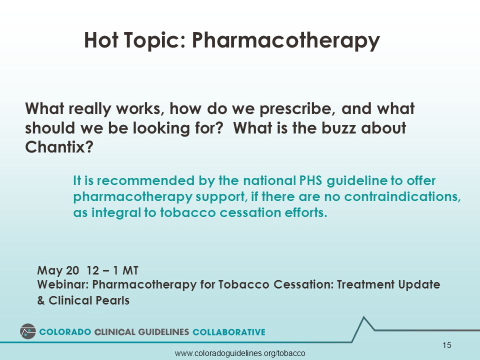 Hot Topic: Pharmacotherapy