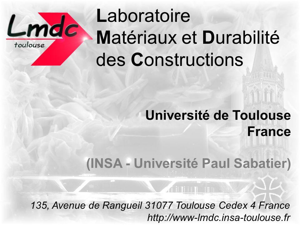 Matériaux et Durabilité des Constructions