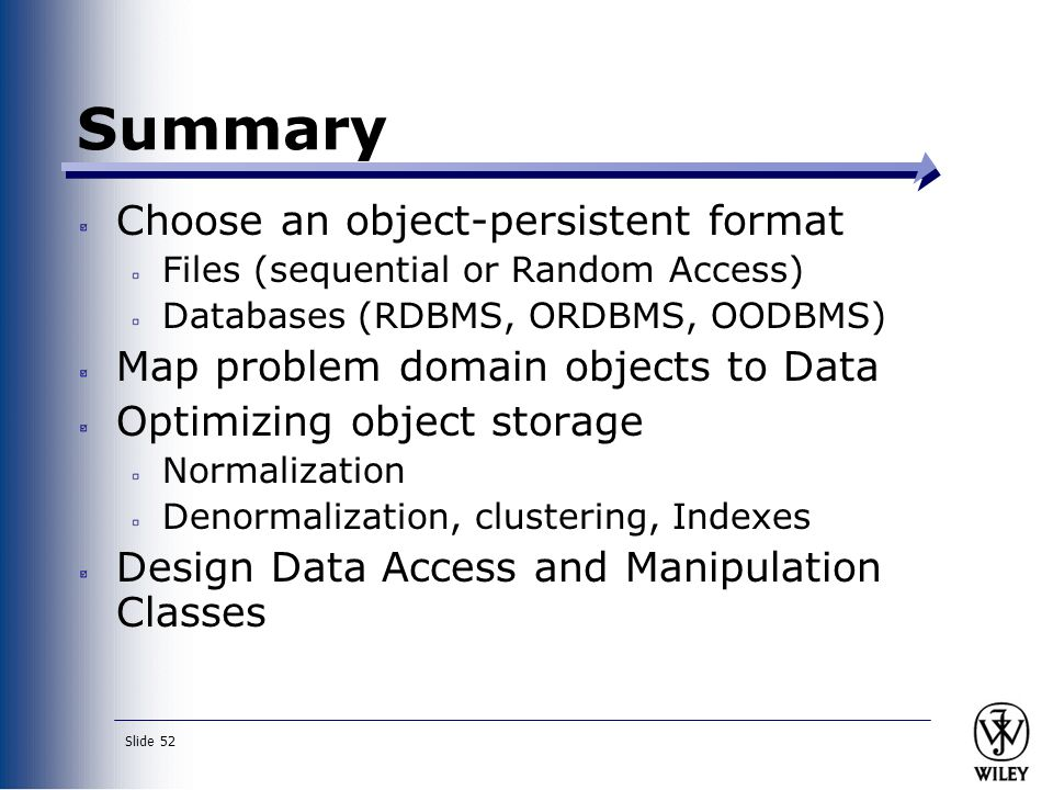 rdbms oodbms and ordbms information technology essay Focusing on oodbms, ordbms and orthogonal persistent javatm (pjama)   in this essay i will present the most common approaches on dbmss and  in  1964 the first commercial database management system (dbms) was   hierarchical databases support two types of information, the record type.