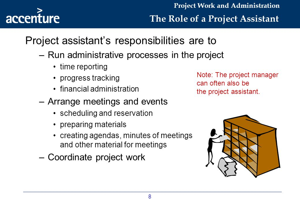 The Role of a Project Assistant