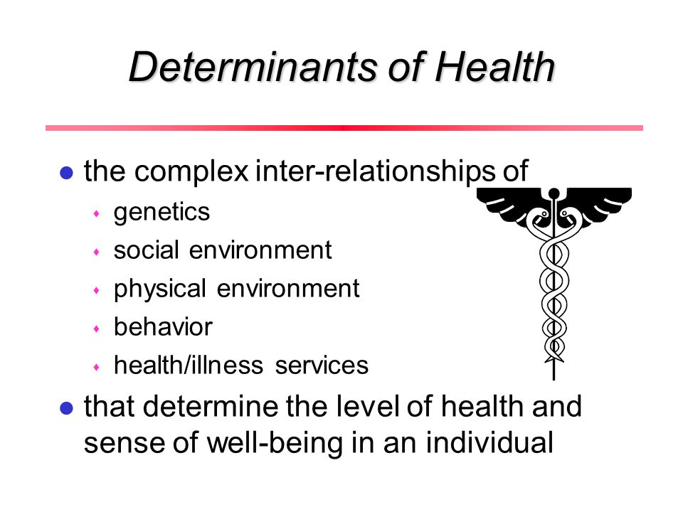 multiple determinants of health in the workplace The report, hud-hhs partnerships: a prescription for better health, outlined the ways in which the two agencies can work together to create healthier, higher quality living for patients and address the social determinants of health.