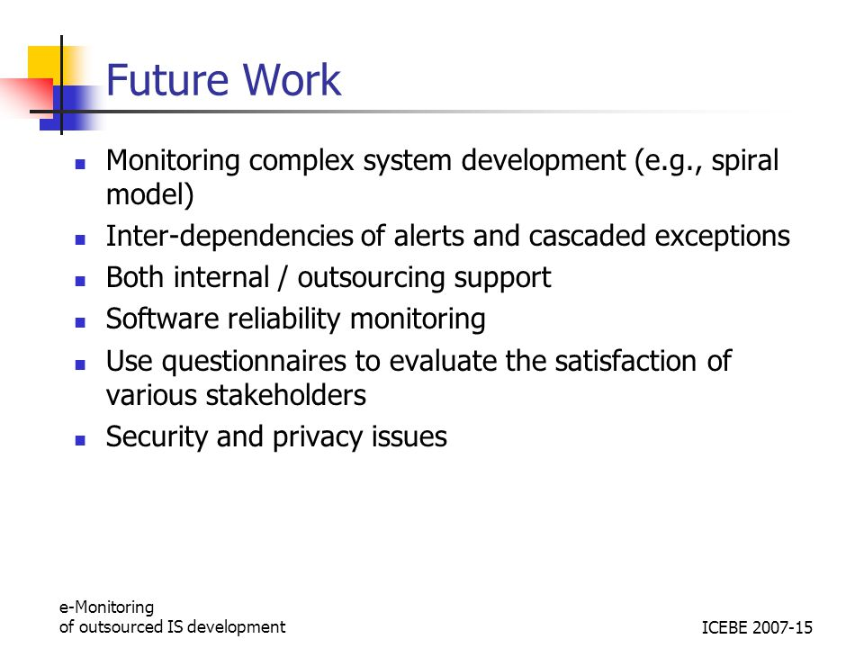 Work Monitoring System : E monitoring of outsourcing is project in financial