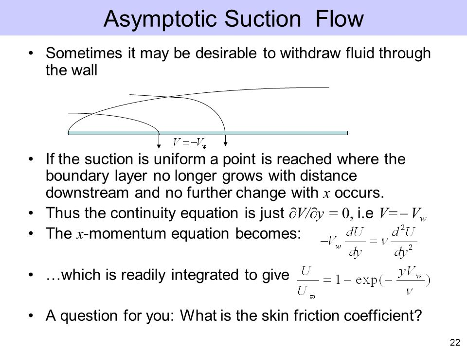 Asymptotic Suction Flow