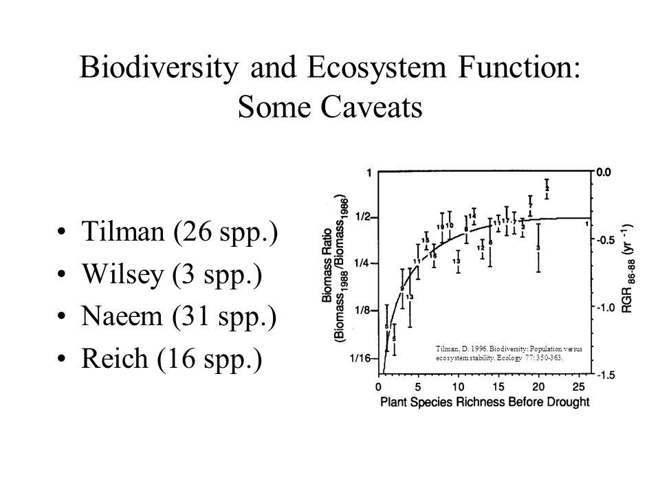 biodiversity population versus ecosystem stability pdf
