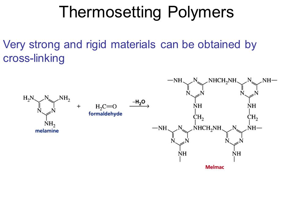 Thermosetting Polymers