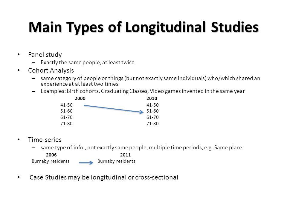 Early Childhood Longitudinal Program (ECLS) - Example ...